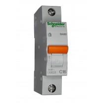 Автоматический выключатель ВА63 1п 16А  Schneider Electric (11203)
