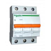 Автоматический выключатель ВА63 3п 16А  Schneider Electric (11229)