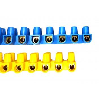 Зажим винтовой ЗВИ-15 н/г 4,0-10мм2 12пар IEK желтые
