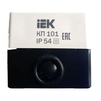 Корпус для кнопок IEK КП101 белый (BKP10-1-K01)