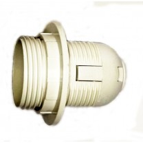 Патрон Е27 пластиковый с кольцом