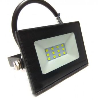 Прожектор 10W LED 6500K IP65 черный 800Lm LMP19 LEMANSO