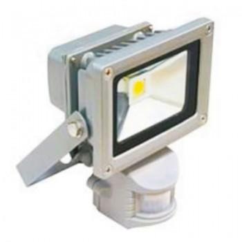 Прожектор LED 10W 6500K IP65 со встроенным датчиком LMPS10 LEMANSO