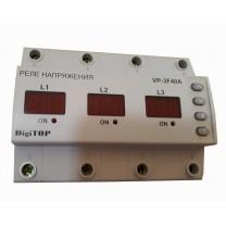 Реле контроля напряжения VP-3F40A Digitop