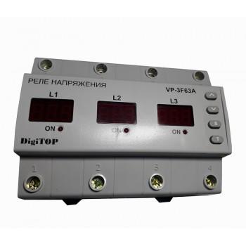 Реле контроля напряжения VP-3F63A Digitop