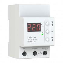 Реле контроля напряжения D25 ZUBR