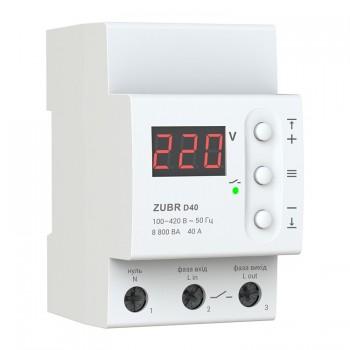 Реле контроля напряжения D40 ZUBR