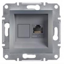 Розетка 1-ая компьютерная Asfora Schneider Electric (EPH4300162)