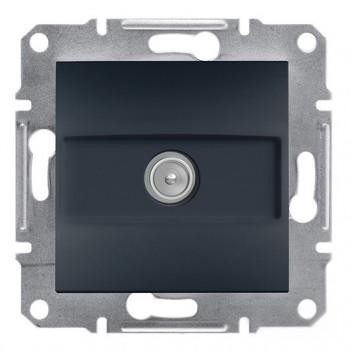 Розетка ТВ концевая внутренняя Asfora Schneider Electric (EPH3200171)