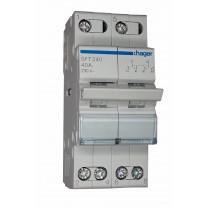 Переключатель модульный 40А SFT240 I-0-II  230V