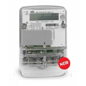 Многотарифный счетчик электроэнергии «день-ночь» NIK 2100 АР2Т 1000 С 11 НИК