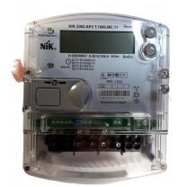 Многотарифный счетчик электроэнергии «день-ночь», трехфазный NIK 2303 AP3 T 1000.MC.11