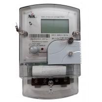 Многотарифный счетчик электроэнергии «день-ночь» NIK 2102-01.Е2МСТР1 220В (5-60)А с радиомодулем (ZIGBEE)