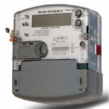 Счетчик электроэнергии день-ночь NIK 2303 ARTT.1000.MC.11