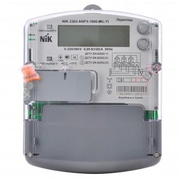Счетчик электроэнергии NIK 2303 ARP3.1000.MC.11