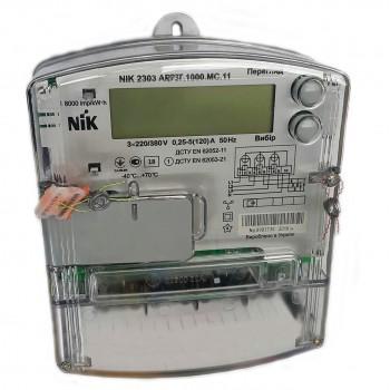 Счетчик электроэнергии NIK 2303 ARP3Т.1000.MC.11