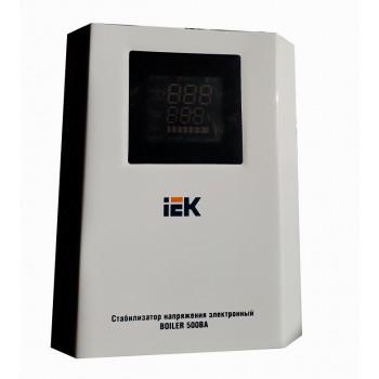 Стабилизатор напряжения Boiler 0,5кВА IEK
