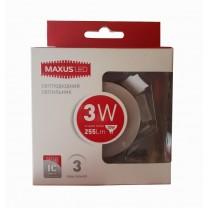 LED светильник MAXUS SDL 3W 4100К (1-SDL-011-01)