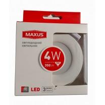 LED светильник MAXUS SDL 4W 4100К (1-SDL-002-01)