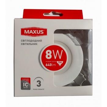 LED светильник MAXUS SDL 8W 4100К (1-SDL-006-01)