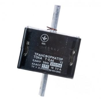 Трансформатор тока Т-0,66 200/5 (0,5S) 4 года Украина