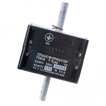 Трансформатор тока Т-0,66 300/5 (0,5S) 4 года Украина
