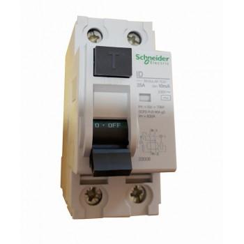 Устройство защитного отключения Multi9 2п 25А 10мА тип АС Schneider Electric