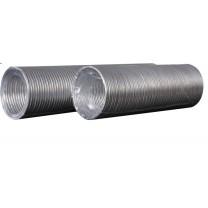 Воздуховод круглый алюминиевый гофрированный 125мм 3м 12,5ВА Эра
