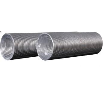 Воздуховод круглый алюминиевый гофрированный 100мм 3м 10ВА Эра