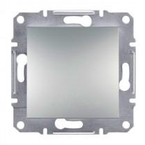 Выключатель 1-ый внутренний алюминий Asfora Schneider Electric (ЕРН0100161)