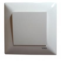 Выключатель Meridian Viko белый